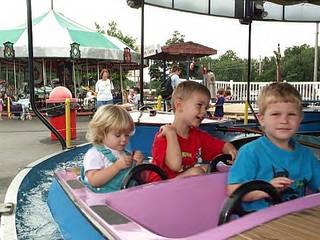 Der Freizeitpark Memphis Kiddie Park in Ohio © Memphis Kiddie Park
