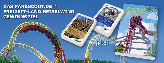 Gewinnspiel Parkscout.de/Freizeit-Land Geiselwind