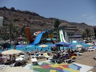 Der Wasserpark Lago Oasis auf Gran Canaria